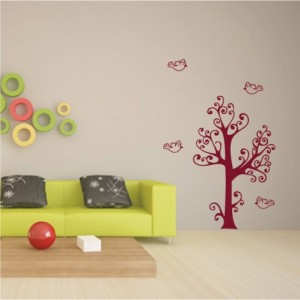 stickers arbres