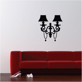 lustre doube lampes